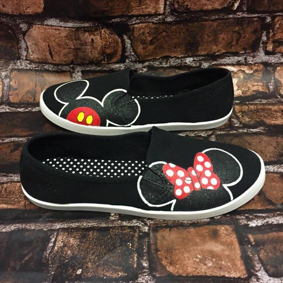 Minnie Maus Disney Schuhe Mickey Mouse Disney World Schuhe Etsy