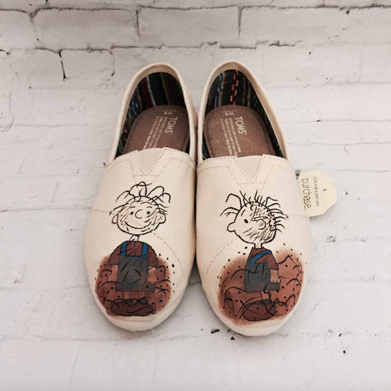 f337dda592 PigPen Toms Charlie Brown Toms Can be Made into Peanuts