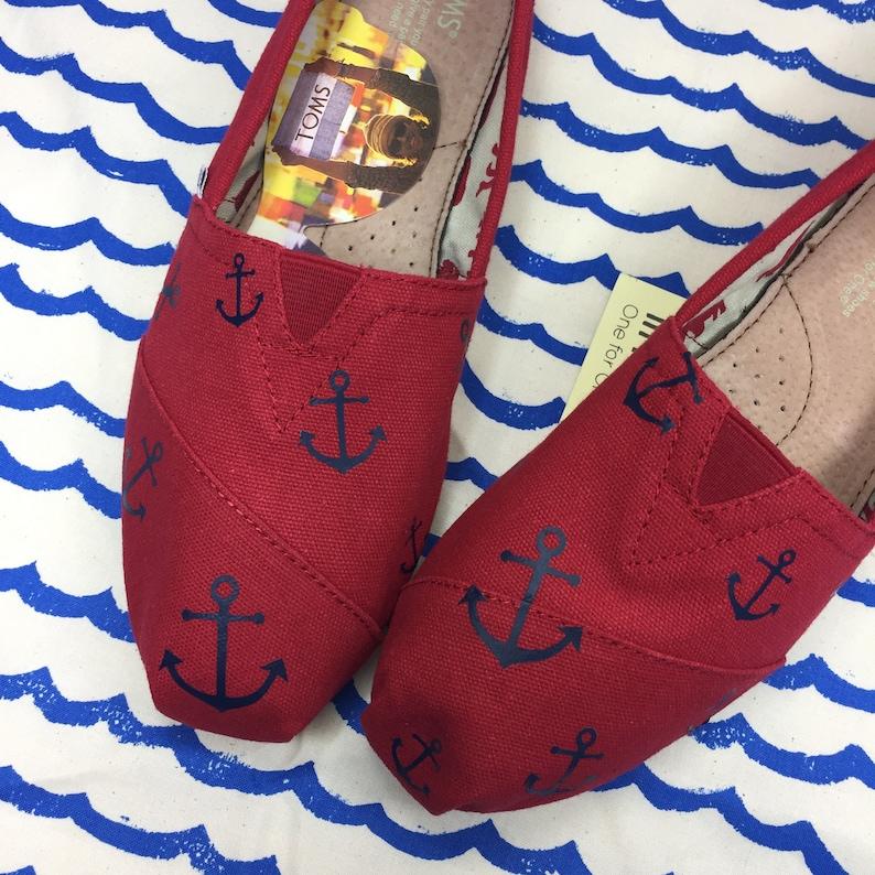 0e10b973a92 Anchor Toms. Cruise Ship Toms. Boat Toms. Cruise Shoes. Anchor