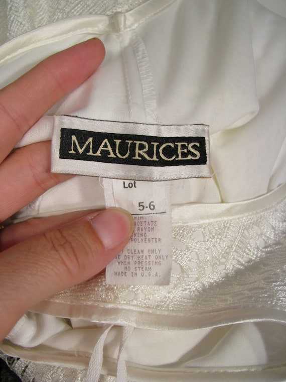 1990s Dress / Bias Cut Maxi Slip Dress / Vintage … - image 9