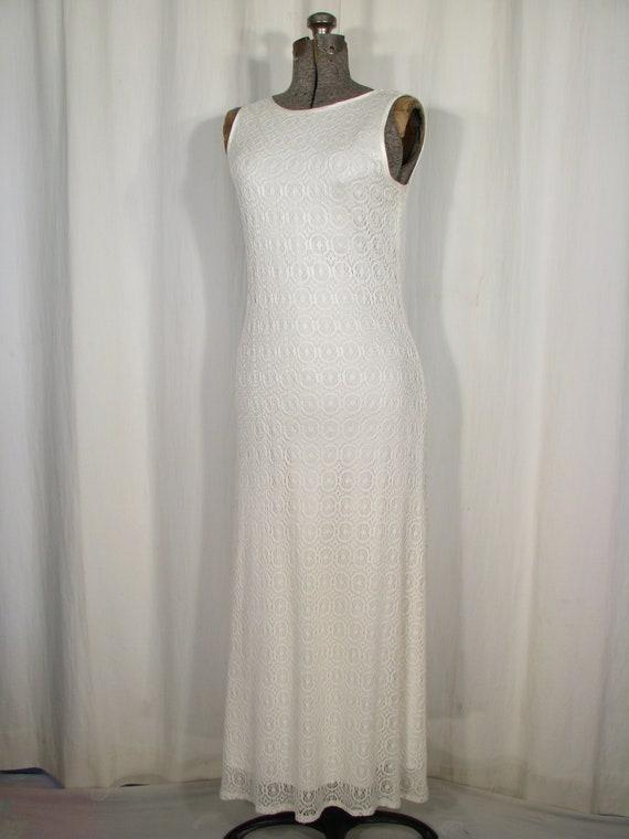 1990s Dress / Bias Cut Maxi Slip Dress / Vintage … - image 7