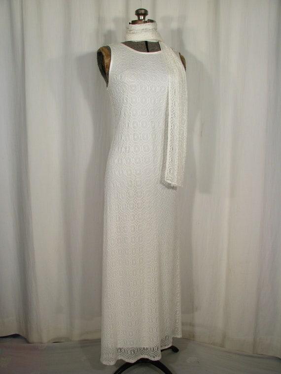 1990s Dress / Bias Cut Maxi Slip Dress / Vintage … - image 10