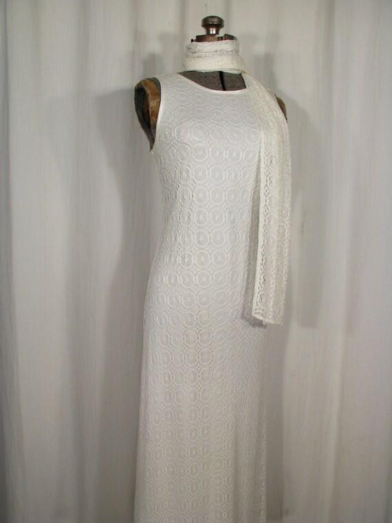 1990s Dress / Bias Cut Maxi Slip Dress / Vintage … - image 2