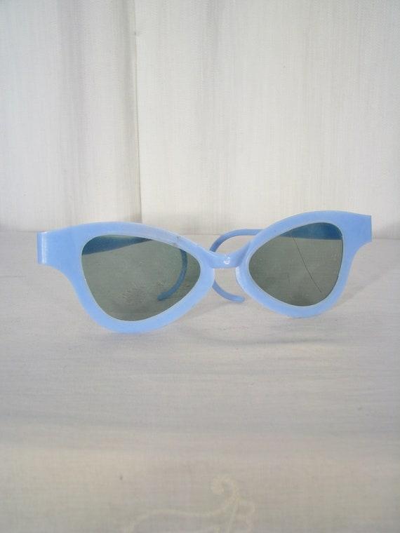 Vintage 1950s Sunglasses, Novelty Cat Eye Eyeglass