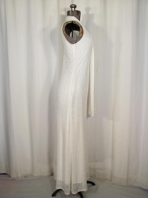 1990s Dress / Bias Cut Maxi Slip Dress / Vintage … - image 4