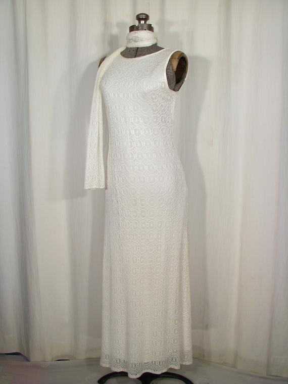 1990s Dress / Bias Cut Maxi Slip Dress / Vintage … - image 3