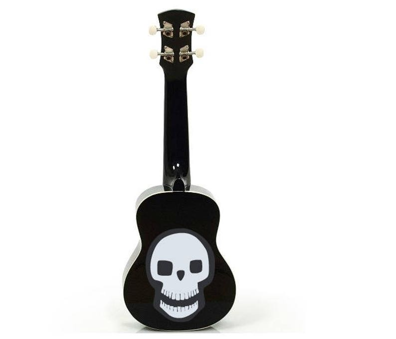 Halloween Dia de los Muertos Day of the Dead ukulele Sugar image 0