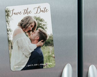 Someone Like You - Photo Wedding Save the Date Magnets + Envelopes