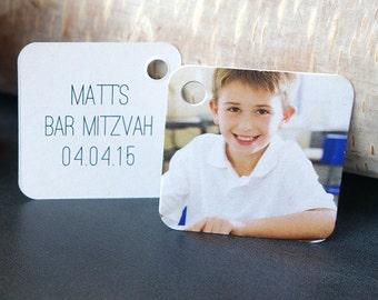 Bar Mitzvah Favor Tags (Mini Tags)