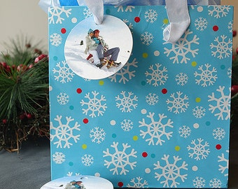 Holiday Present Tags (Round Tags)