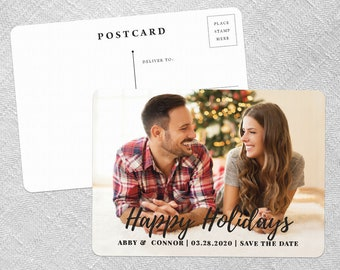 Bellevue - Holiday Postcard - Wedding Save-the-Date