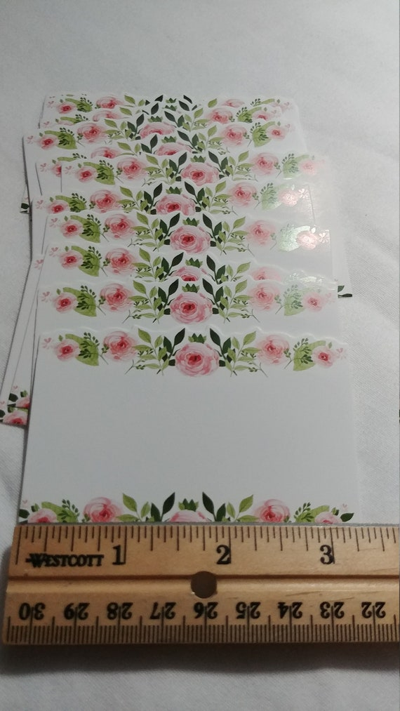 Clear Card Holders Cardette Display Flower Florist Bouquet Craft