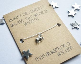 Unicorn card