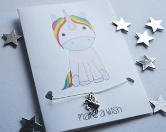 Unicorn Charm Card