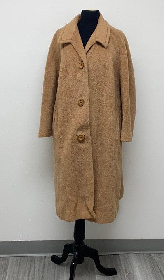 Vintage Teddy Long Coat