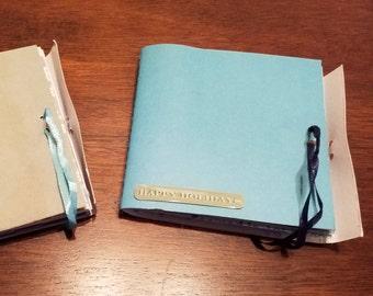 Mini Altered Scrapbooks ~ Winter Theme