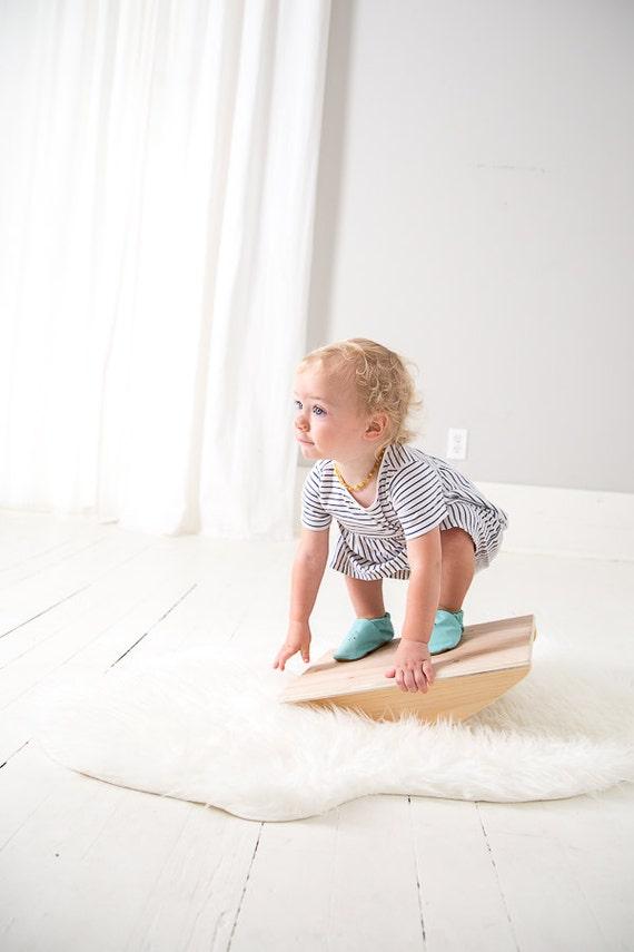 Holz-Balance-Board Montessori Spielzeug Spielzeug | Etsy