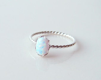 Opal Ring Etsy