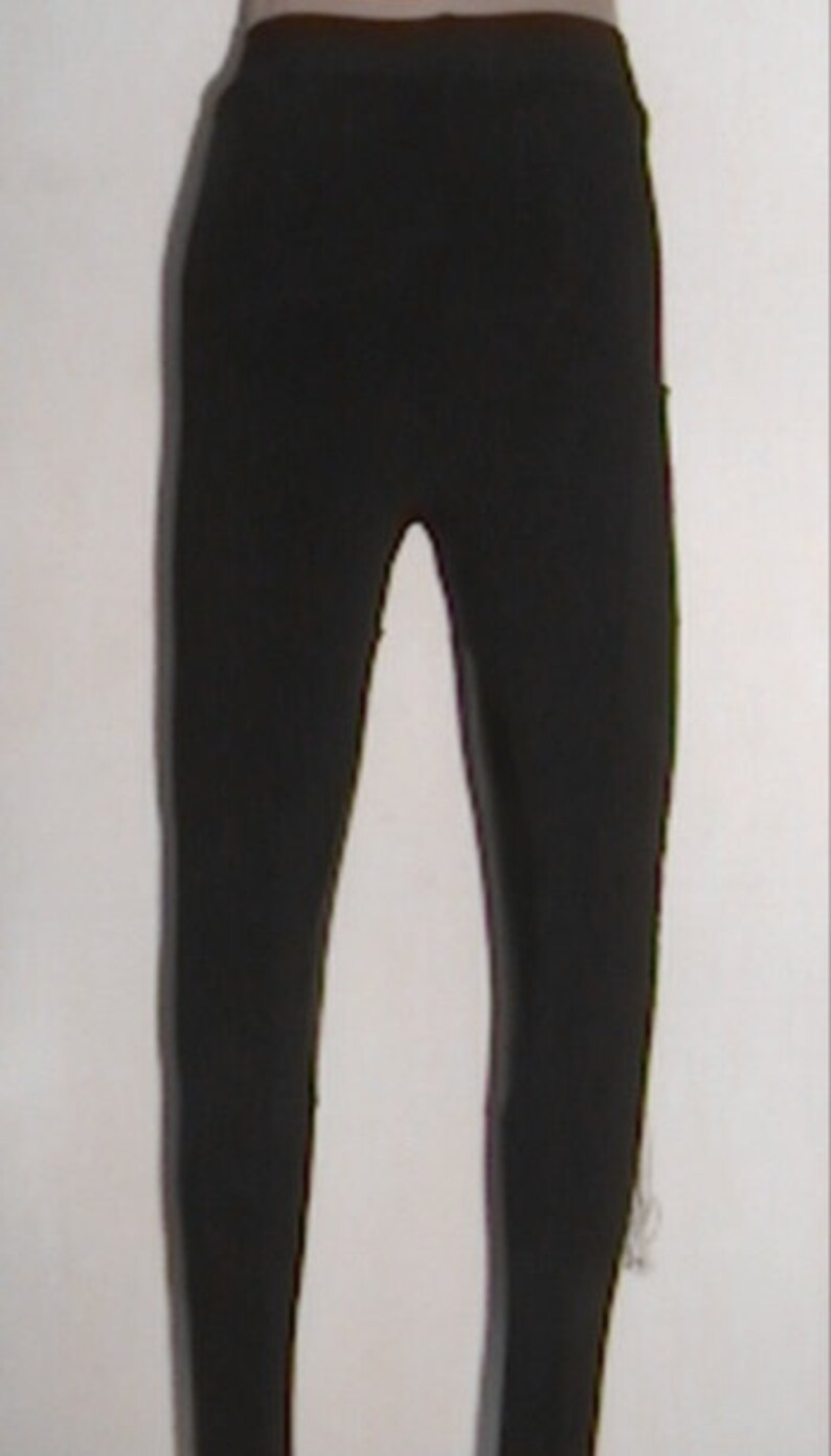 Aanstadt Das Deerskin Breeches Black Powerlux GYPSYS Pant YY Size 2-4