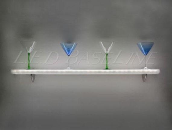 lumineuse flottant étagère murale LED 52 8n0wXONkPZ