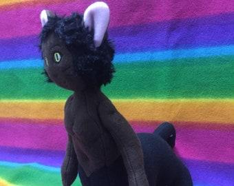 Panther Centaur Pantaur Plush Plushie Doll Soft Toy