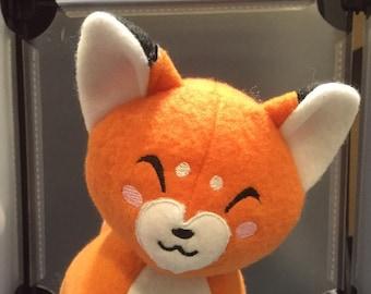 Fox Plush Plushie Toy Reynard the Orange Fox