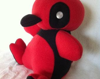 Deadpool Penguin Plush Toy Penpool