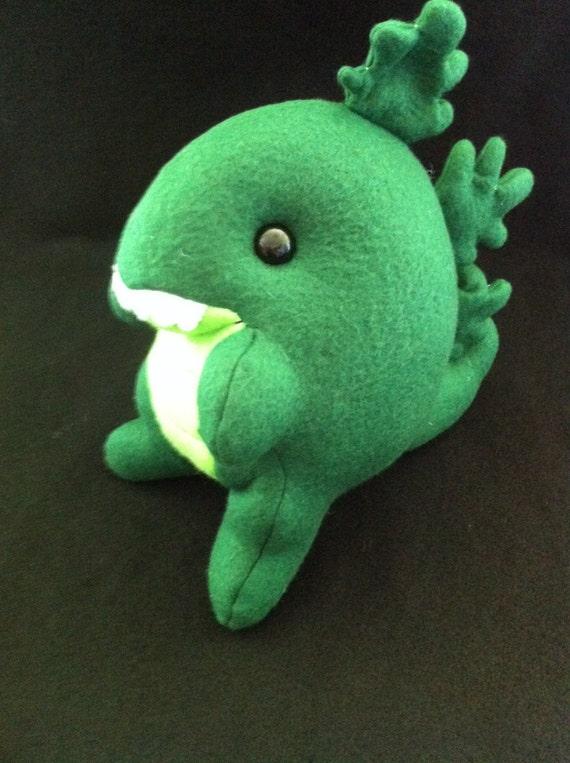 Ty Puppies Stuffed Animals, Godzilla Plush Fat Baby Kaiju Etsy