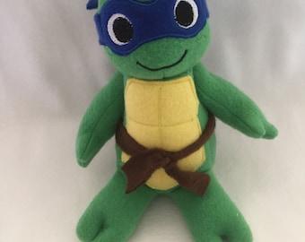 Leonardo Teenage Mutant Ninja Turtles Large TMNT Plush Plushie Toy