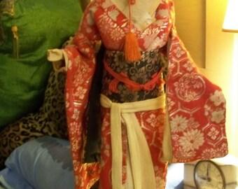 Antique Japanese / Chinese Geisha Dolls