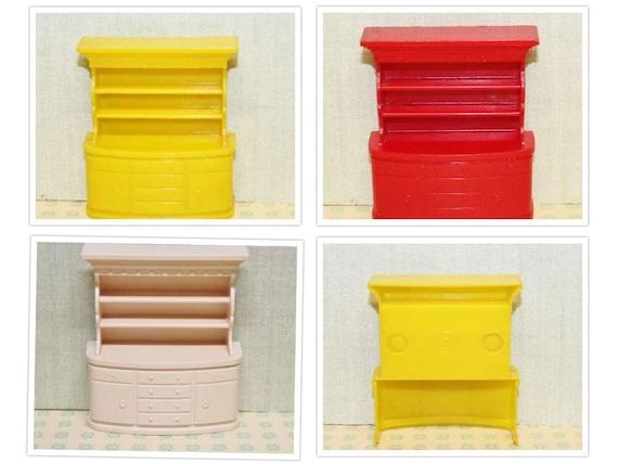 Plastic Dollhouse Furniture Hard Plastic Superior 3/4 Or 1:16 | Etsy
