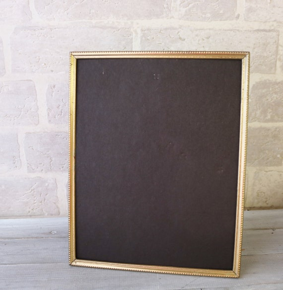 Replacement Picture Frame Easel Back With Black Flocking 8 X 10 Or 5 X 7 Inch Size Hinged Easel And Wall Hooks
