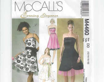 23fec21dfa3f McCall s 4460 Pattern for Misses  Evening Elegance Dress