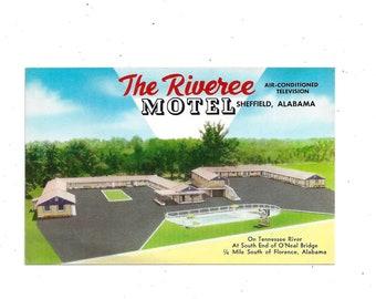 Stone Lodge Motel 1960s Postcard West Virginia US Route 60 Vintage Travel Souvenir Ephemera FREE Shipping to USA Huntington Unposted