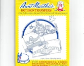 Aunt Martha 39 s 3268 Southern Belle Hot Iron Transfers for Pillow Slips Cases Embroidery, Textile Painting, Needlepoint, Arts Crafts, UNUSED