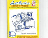 Aunt Martha 39 s 3140 Southern Belle Hot Iron Transfers for Pillow Slips Cases Embroidery, Textile Painting, Needlepoint, Arts Crafts, UNUSED