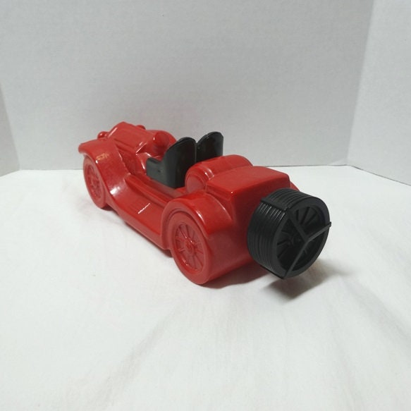 1974-77 AVON rouge Roadster voiture carafe Stutze ours chat