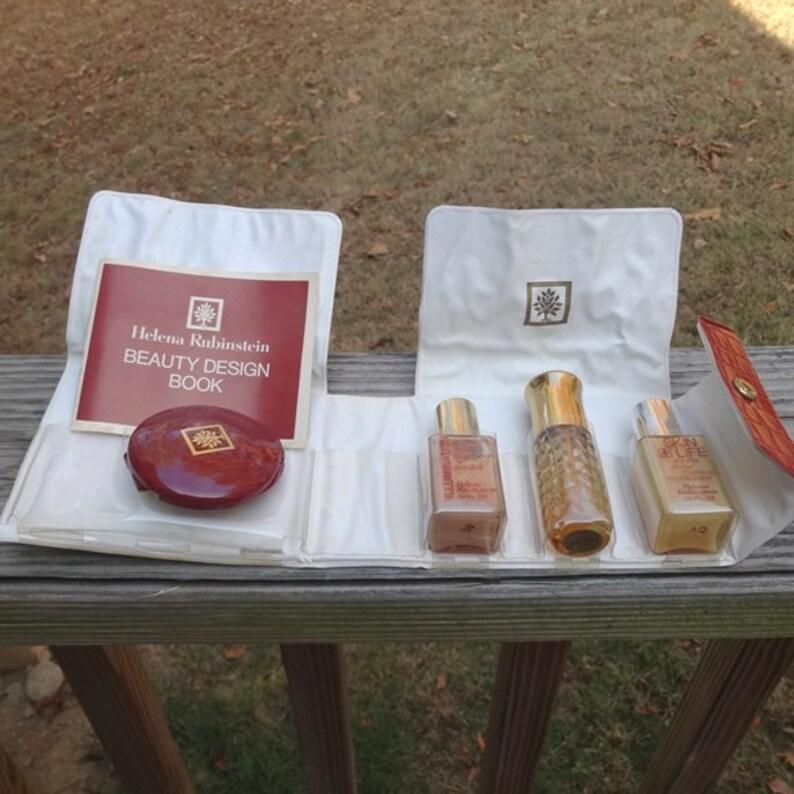 1970s Helena Rubinstein Makeup & Perfume Kit, Foundation, Herbessence  Parfum, Moisturizer, Compact, Vintage Cosmetics, Make-Up