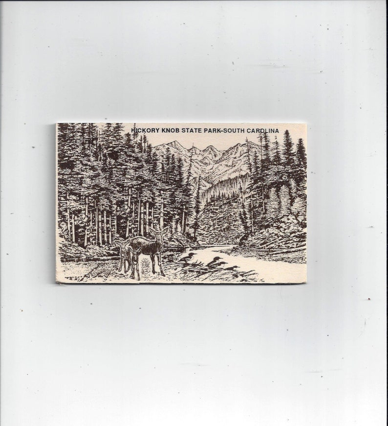 FREE Shipping to USA, 1990s Wood Postcard of Hickory Knob State Park, South  Carolina, Mountain Scene, Unposted, National Novelty, Souvenir