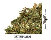 Ectoplasm - lemon mint herbal tea - fandom inspired loose leaf tea blend