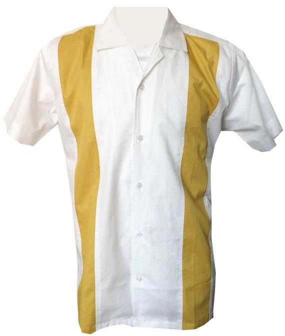 Vintage Mens Shirt 1950s//1960s Rockabilly,Bowling Retro