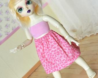 Doll Skirt - Pink #1 - YoSD LTF
