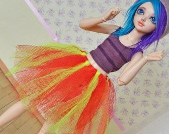 Doll Skirt - Scrap Skirt #1 - MSD MNF