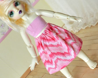 Doll Skirt - Pink #2 - YoSD LTF