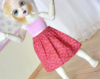 Doll Skirt - Pink #5 - YoSD LTF