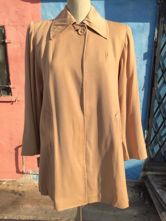 40's 'Versatogs' for I. Magnin Gabardine Jacket