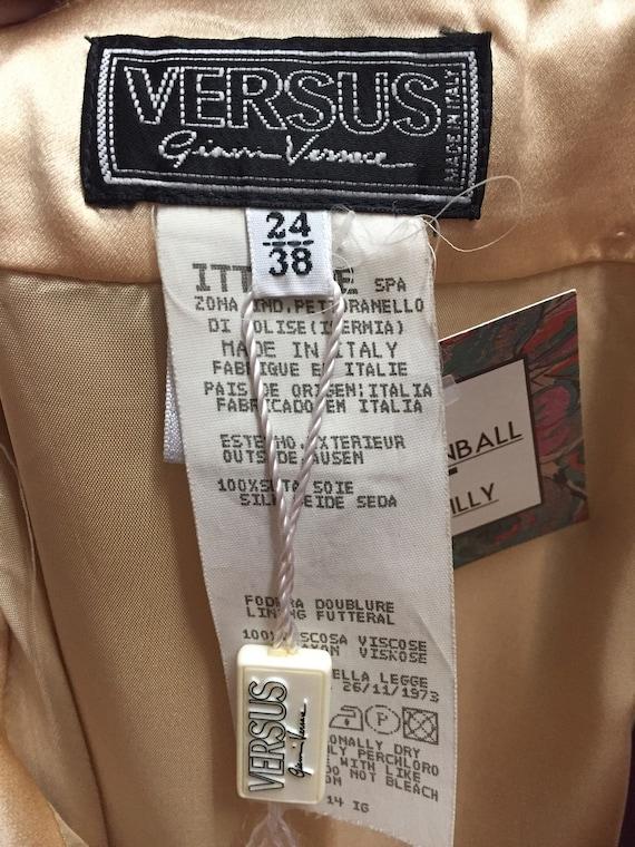 Versace VERSUS 90's Deadstock Slip Dress - image 4