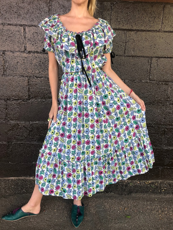"40's Ditzy Floral Dress by ""Tudor"""