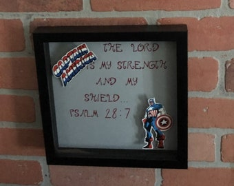 Superheros and Bible Verses