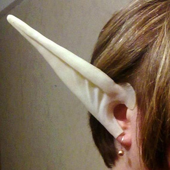 Cosplay middle length LARP Elf ears headband